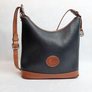 Dooney & Bourke Vintage Leather Shoulder Bag Tote